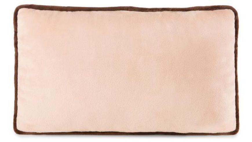NICI Kissen Erdmaennchen mit Kleeblatt rechteckig 43 x 25 cm