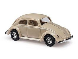BUSCH 89130 VW Kaefer mit Brezelfenster 1951 Beige 1 87