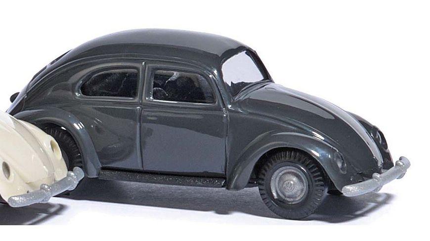 BUSCH 89131 VW Kaefer mit Brezelfenster 1951 Dunkelgrau 1 87