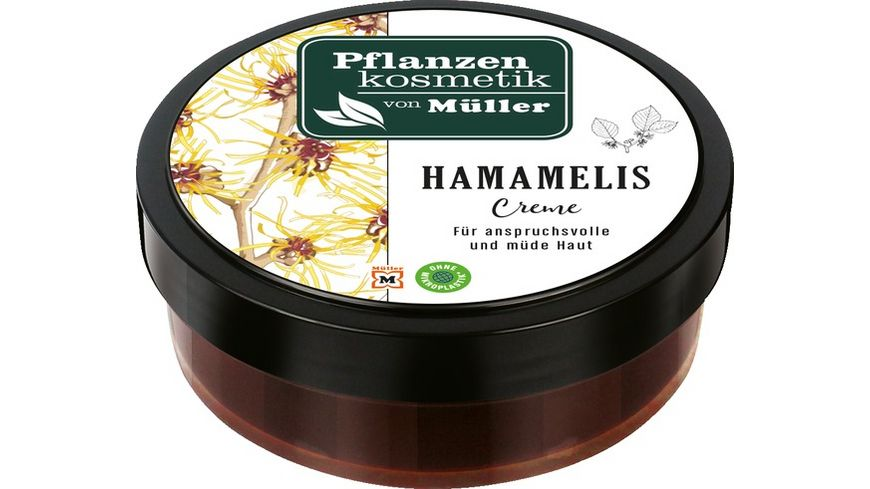 Pflanzenkosmetik von Mueller Hamameliscreme
