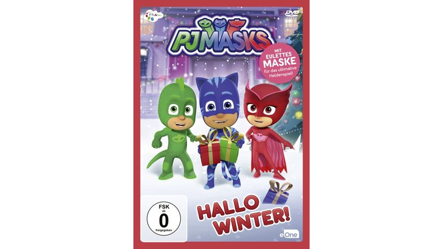 PJ Masks Pyjamahelden 3 Hallo Winter