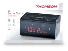 Thomson Radiowecker CR50 black