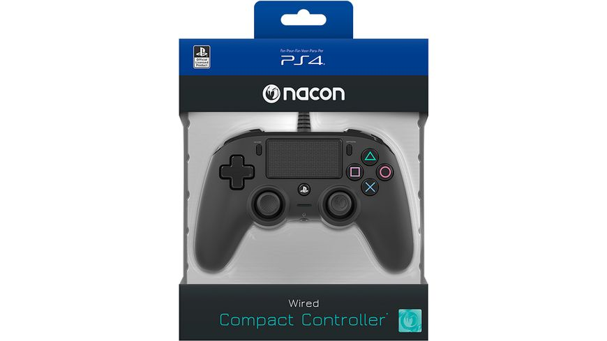 NACON PS4 Controller Color Edition [Off. lizenziert/black]