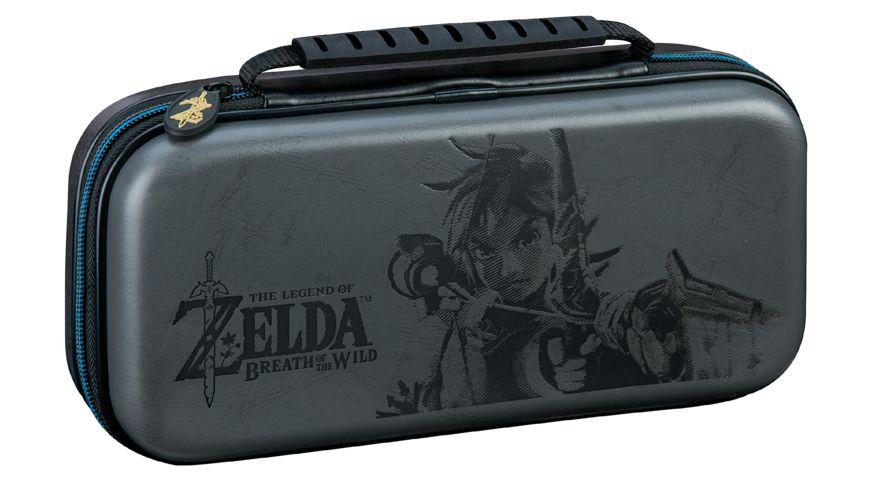 BIGBEN Switch Travel Case Zelda NNS44 Offiz lizenziert grey