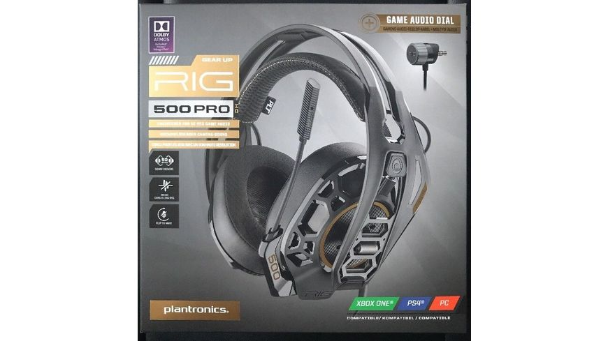 NACON  - RIG 500 PRO HC [PS4/Xbox One/PC]