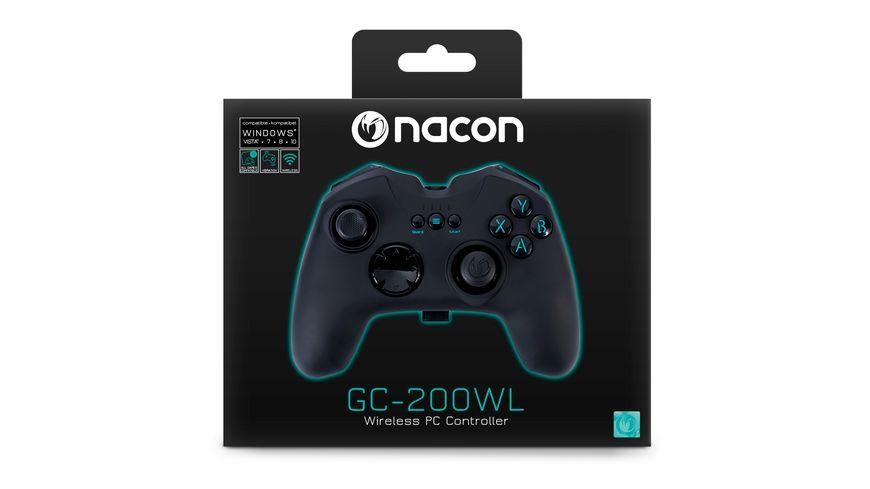 PC RF Gaming Controller GC 200WL black