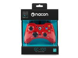 NACON PC Gaming Controller GC 100XF red