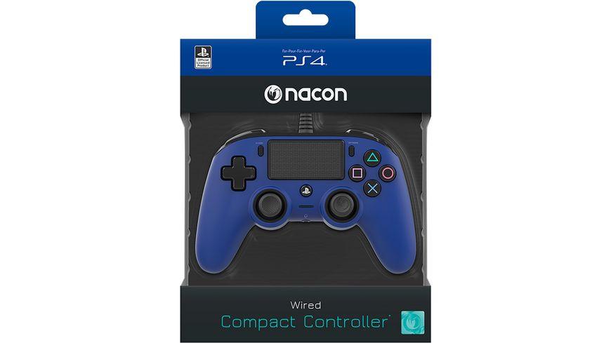 NACON PS4 Controller Color Edition [Off. lizenziert/blue]