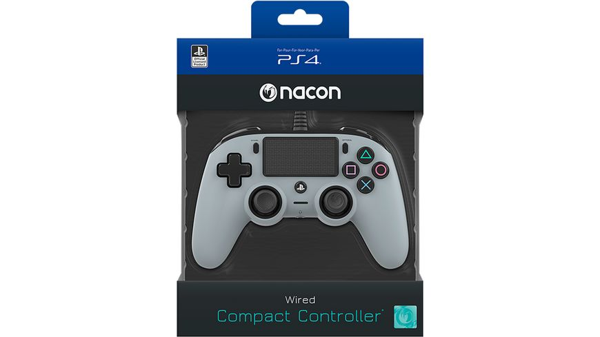 NACON PS4 Controller Color Edition [Off. lizenziert/grey]