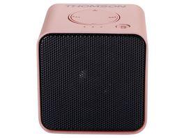 Thomson Bluetooth Lautsprecher WS01 Metal pink