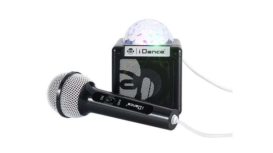 Sing Cube 100BK BT Disco Ball wired Micro black