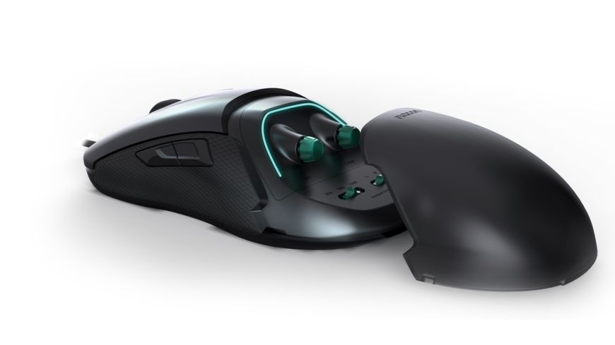 Optical Gaming Mouse GM 500 E SPORT 200 6400dpi Plug n play mehrfarbige Beleuchtung