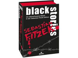 moses black stories Sebastian Fitzek Edition