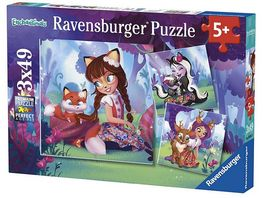 Ravensburger Puzzle Enchantimals 3 x 49 Teile