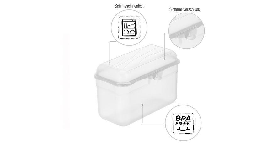 rotho Brotdose Funbox 1 75l