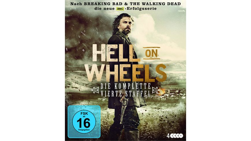 Hell on Wheels Die komplette vierte Staffel 4 BRs