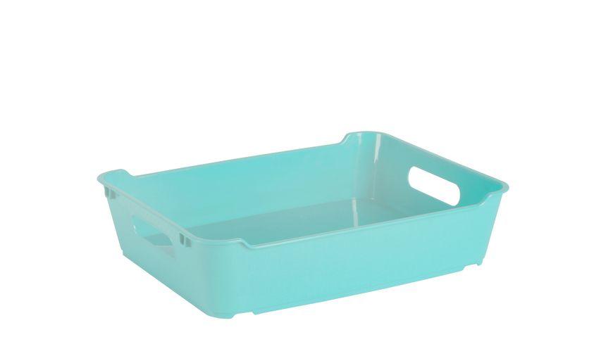 keeeper Aufbewahrungsbox Lotta A5 aqua blue