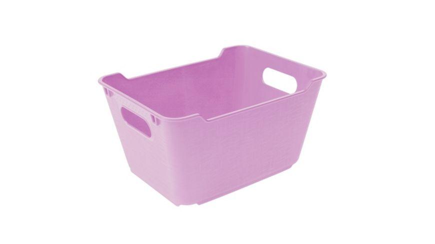 keeeper Aufbewahrungsbox Lotta 1 8 l lilac