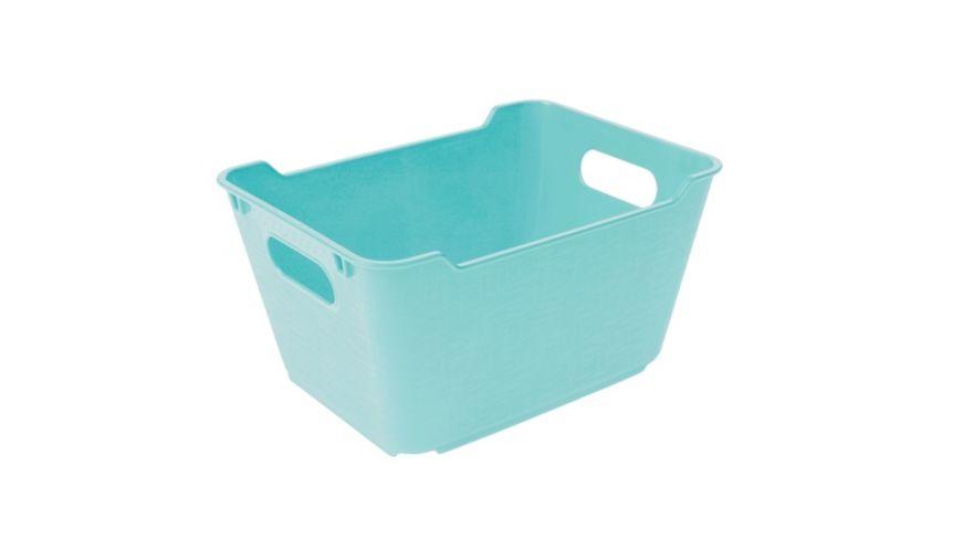 keeeper Aufbewahrungsbox Lotta 1 8 l aqua blue