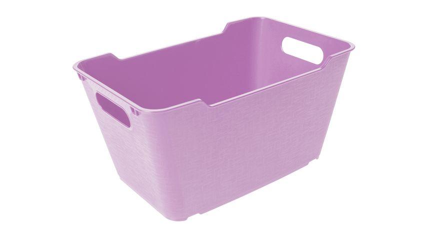 keeeper Aufbewahrungsbox Lotta 6 l lilac