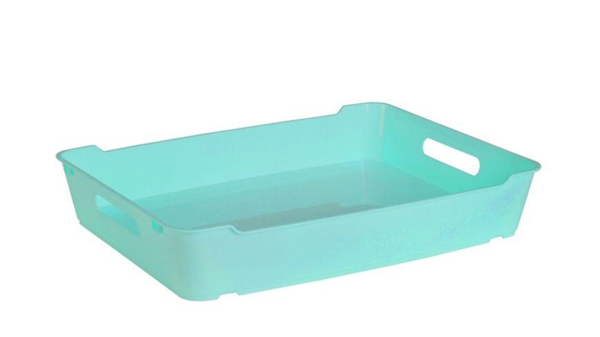 keeeper Aufbewahrungsbox Lotta A4 aqua blue