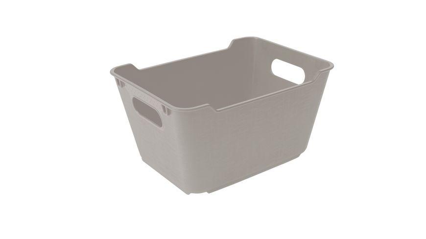 keeeper Aufbewahrungsbox Lotta 1 8 l urban grey
