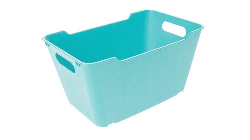 keeeper Aufbewahrungsbox Lotta 6 l aqua blue