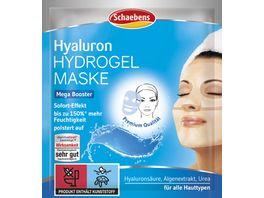 Schaebens Hyaluron Hydrogel Maske