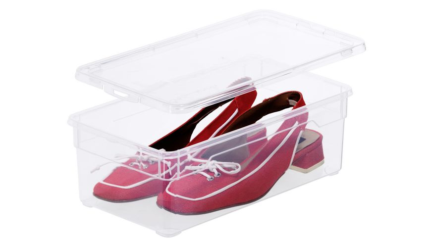 rotho Clearbox Klarsichtbox Lady Shoe