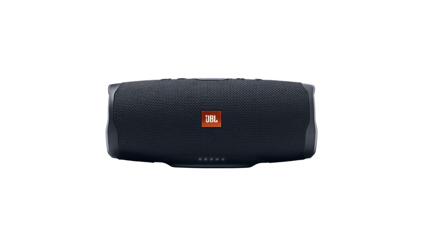 JBL Charge 4 Bluetooth Lautsprecher Schwarz Wasserfest