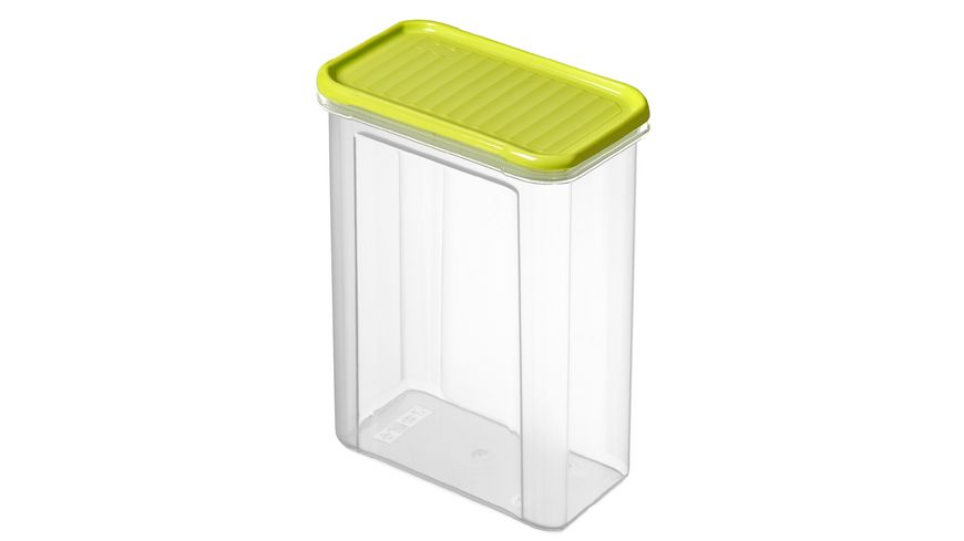 rotho Vorratsdose DOMINO 1 5 l lime