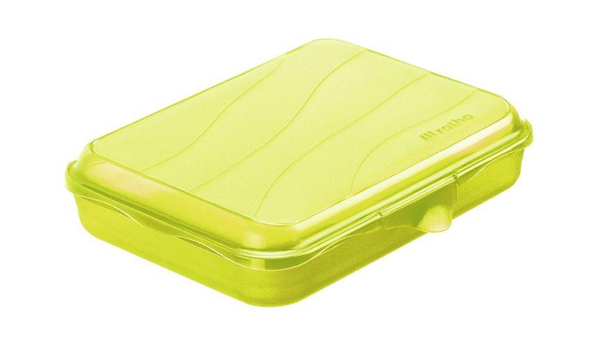 rotho Brotdose Funbox 0 75 l lime