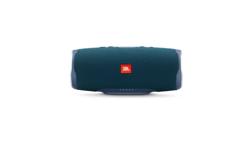 JBL Charge 4 Bluetooth Lautsprecher, Blau Wasserfest