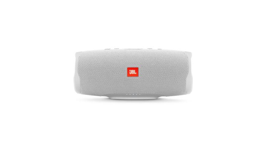 JBL Charge 4 Bluetooth Lautsprecher, Weiß Wasserfest