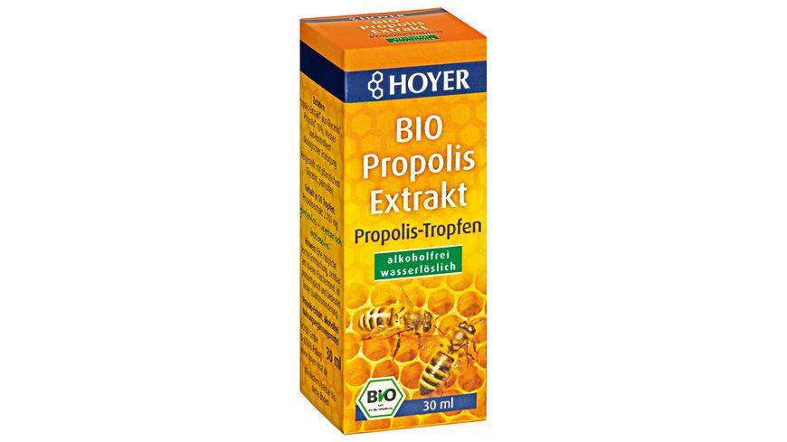 HOYER Bio Propolis Extrakt alkoholfrei