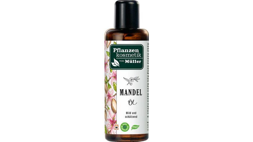 Pflanzenkosmetik von Mueller Mandel Oel
