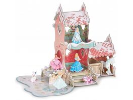 Papo Schloss von Prinzessin Isiplay Winterbox Set