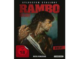 Rambo Trilogy Uncut 3 Blu rays