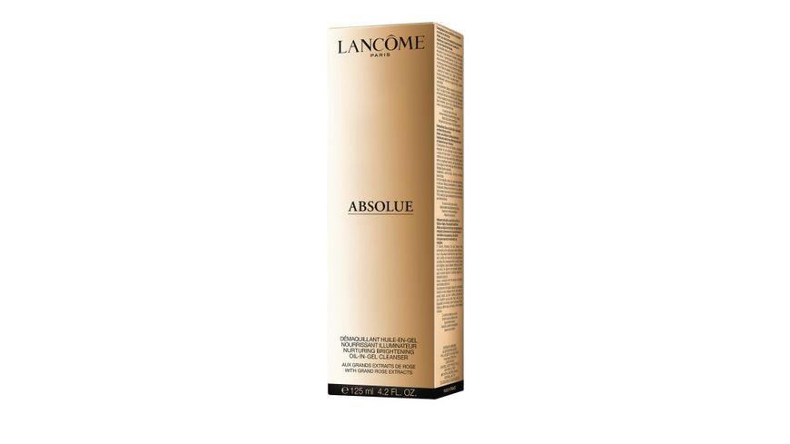 LANCOME Absolue Nurturing Brightening Oil in Gel Cleanser
