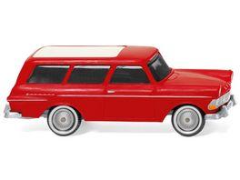 Wiking 007149 Opel Rekord 61 Caravan rot