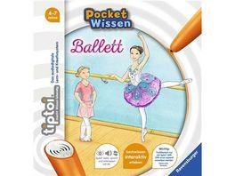 Ravensburger Buch tiptoi Pocket Wissen Ballett