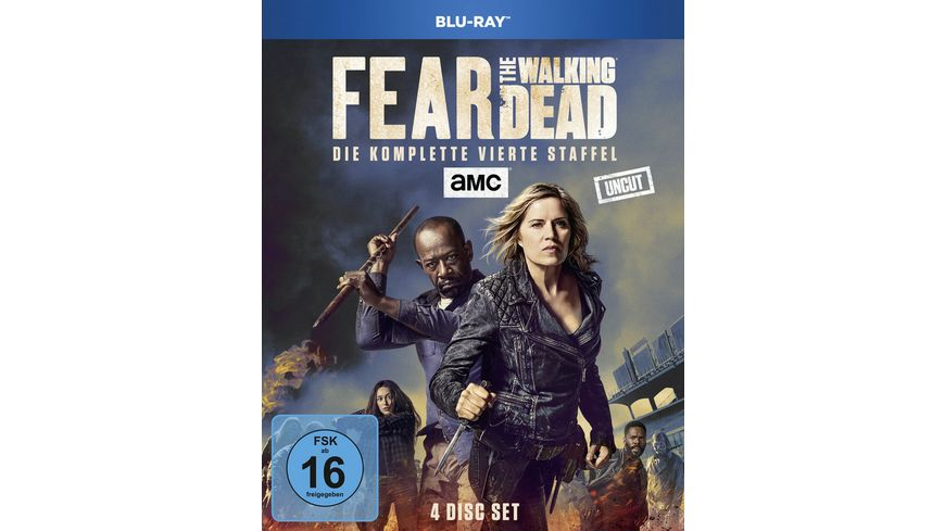 Fear the Walking Dead Die komplette vierte Staffel Uncut 4 BRs