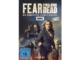 Fear the Walking Dead Die komplette vierte Staffel Uncut 4 DVDs