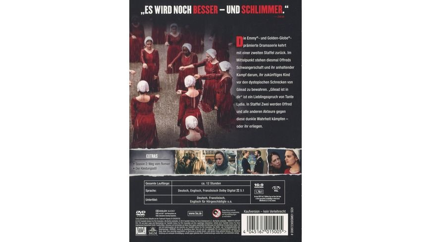 The Handmaid s Tale Season 2 5 DVDs
