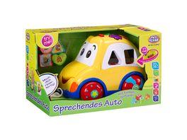 Mueller Toy Place Sprechendes Auto mit Formensortierer