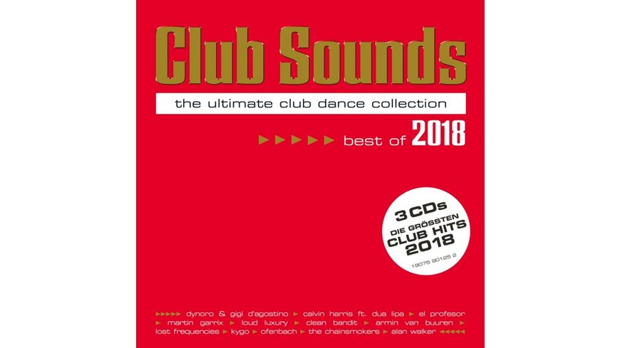 Club Sounds Best Of 2018