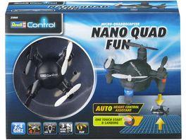 Revell Control 23888 Quadcopter Nano Quad FUN schwarz