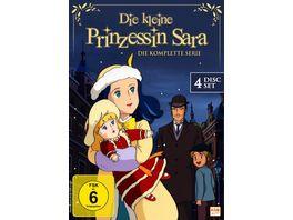 Die kleine Prinzessin Sara Gesamtedition 4 DVDs