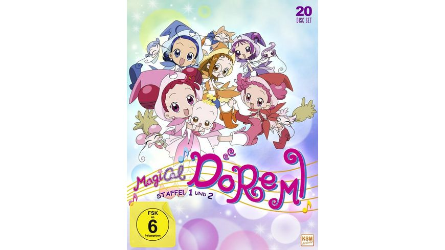 Magical Doremi Gesamtedition Staffel 1 2 Episode 01 100 20 DVDs