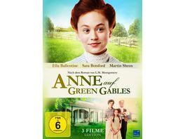 Anne auf Green Gables Gesamtedition Teil 1 3 3 DVDs